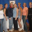 Joy, Karen, Julie, Daisy, Pam, Lynne, MJ